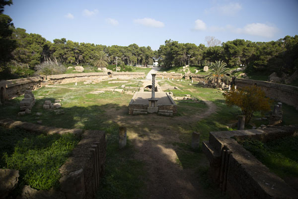 The amphiteatre of Carthage | Roman Carthage | 突尼西亚