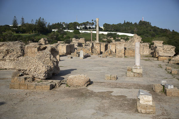 Antoninus Baths are one of the best preserved parts of Roman Carthage | Cartago romana | Túnez