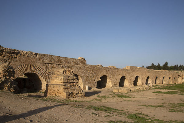 Aqueduct providing water to Carthage | Roman Carthage | 突尼西亚
