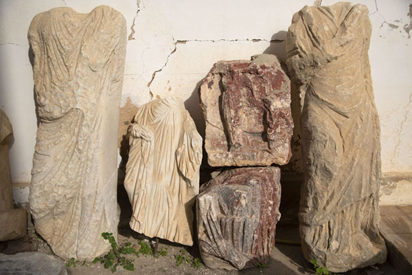 Works of art found at the ancient site of Carthage | Carthage romaine | Tunisie