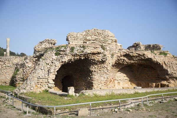 Part of the Baths of Antoninus of Carthage | Roman Carthage | 突尼西亚