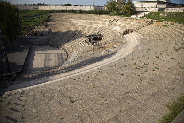 The Roman theatre of Carthage | Roman Carthage | 突尼西亚