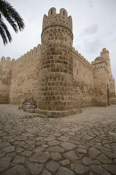 Foto van The southwestern part of the Ribat of Sousse - Tunesië - Afrika