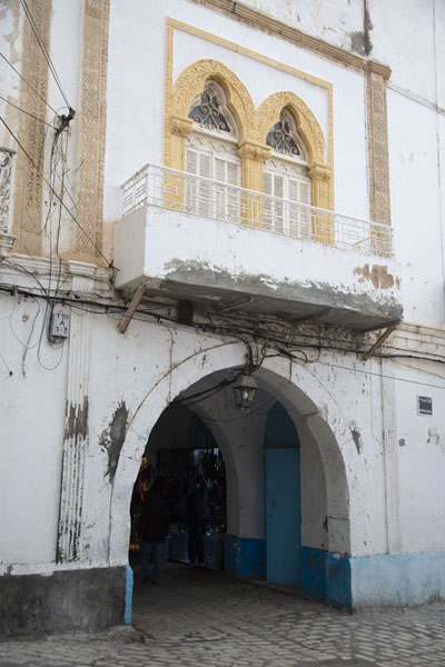 Arch giving access to the old medina of Sousse | Sousse medina | Tunisia