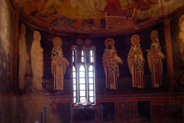 Picture of Chora Museum (Turkey): Fresco of saints inside Chora Museum