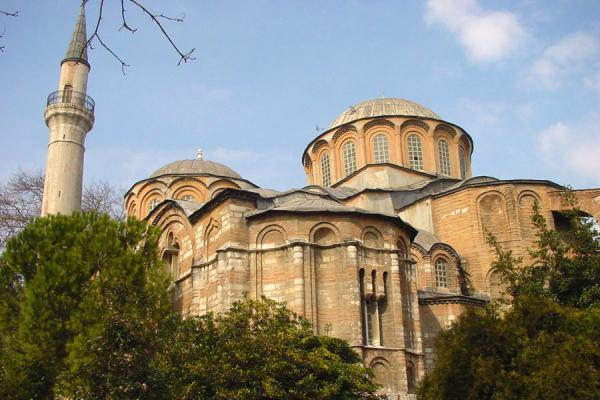 Picture of Chora Museum (Turkey): Kariye museum from backyard, Istanbul