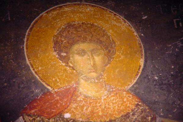 Picture of Chora Museum (Turkey): Fresco of St. George, Chora museum, Istanbul