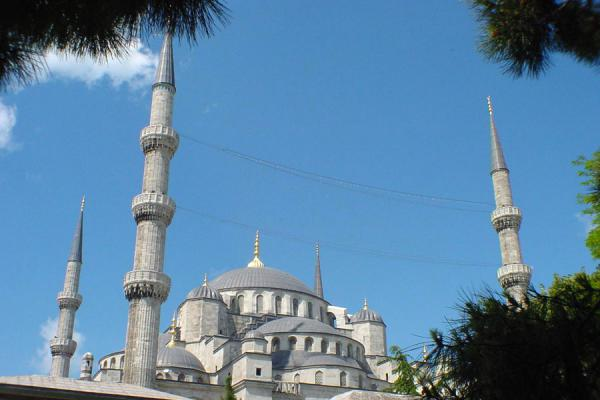 Blue Mosque from a distance | Blue Mosque | Turkey