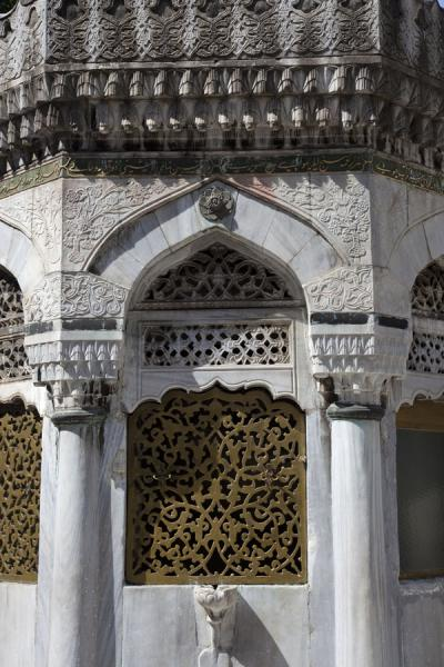 Picture of Ablution house in the courtyard of Yeni Valide CamiiIstanbul - Turkey