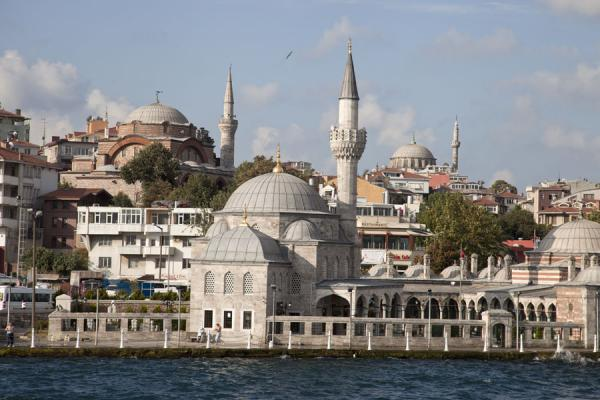Picture of View of Üsküdar from the Bosporus with several mosques defining the skylineIstanbul - Turkey