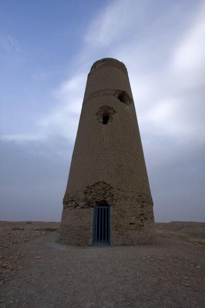 Picture of Dekhistan (Turkmenistan): Lone minaret survived the destruction by the forces of Genghiz Khan