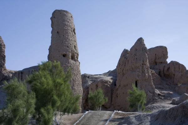 Foto di Tower at the entrance of IzmukshirDashoguz - Turkmenistan