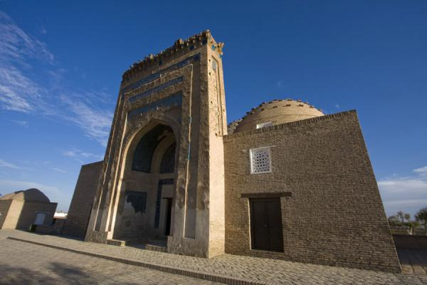 Foto van The Nedjmeddin Kubra mausoleumKunya-Urgench - Turkmenistan