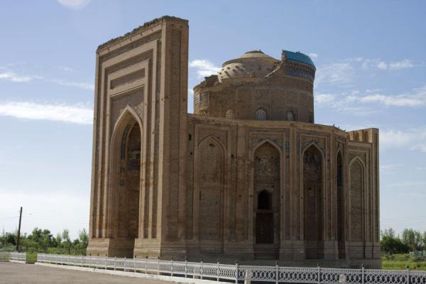 Foto van The complex of Turabeg KhanumKunya-Urgench - Turkmenistan