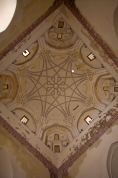 Picture of Merv (Turkmenistan): Mausoleum of Sultan Sanjar: view of the ceiling