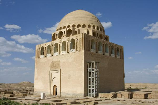 Picture of Merv (Turkmenistan): Centrepiece of Merv: the Mausoleum of Sultan Sanjar