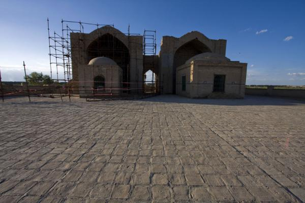 Picture of Merv (Turkmenistan): View of the Mausolea of two Ashkab in Merv
