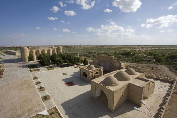 Picture of Merv (Turkmenistan): Looking over Merv from a tower in the Hodja Yusup Hamadani complex