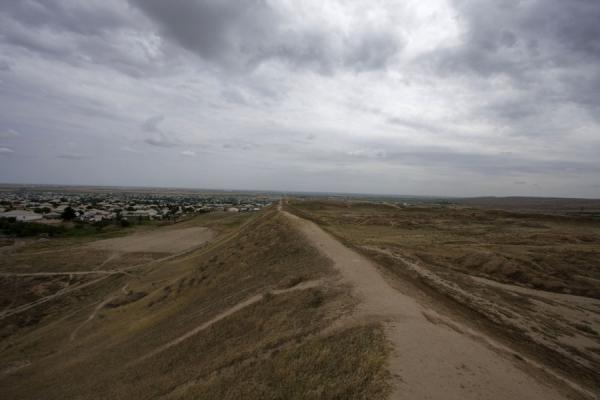 Picture of View from the old wall of NisaNisa - Turkmenistan