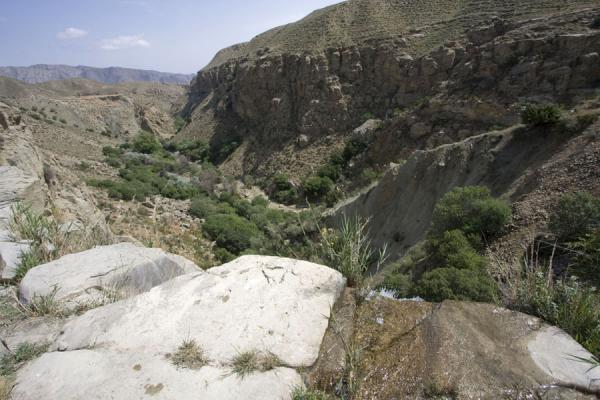 Picture of Nokhur (Turkmenistan): View of a canyon near Nokhur