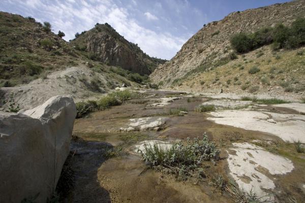 Picture of Nokhur (Turkmenistan): River in landscape near Nokhur