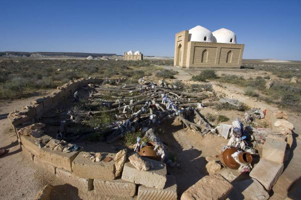 Picture of Fertility place and shrine at Gozli AtaYangykala - Turkmenistan