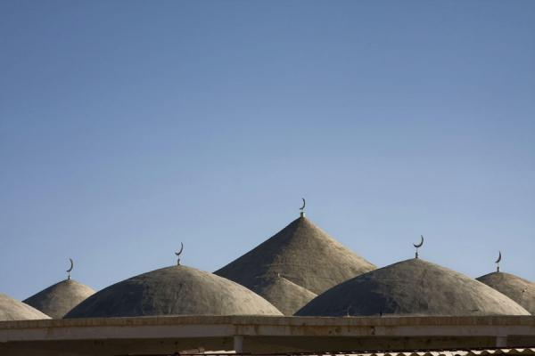 Picture of Some of the domes of Gozli AtaYangykala - Turkmenistan