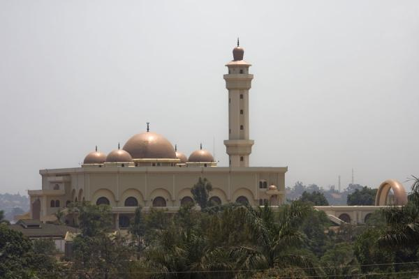 Picture of Gadhafi National Mosque (Uganda): The mosque dominates the skyline of Kampala