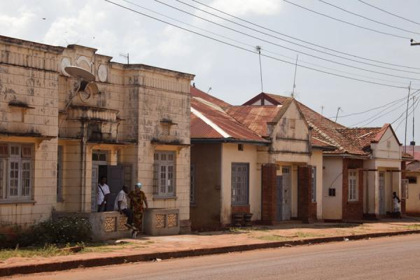Row of houses in Jinja | Jinja | Uganda