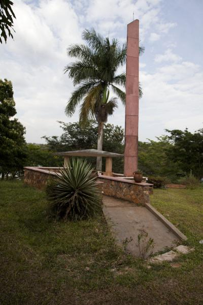 Picture of Jinja (Uganda): Monument for Speke at the source of the Nile