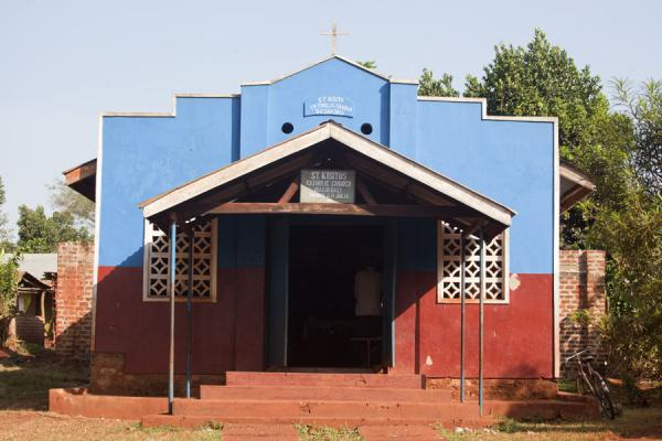 Picture of Jinja (Uganda): Small church of Bujagali