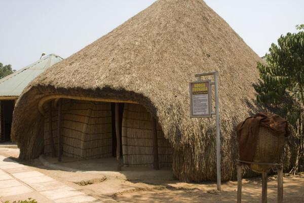 Picture of Drum house of the Kasubi Tombs complex