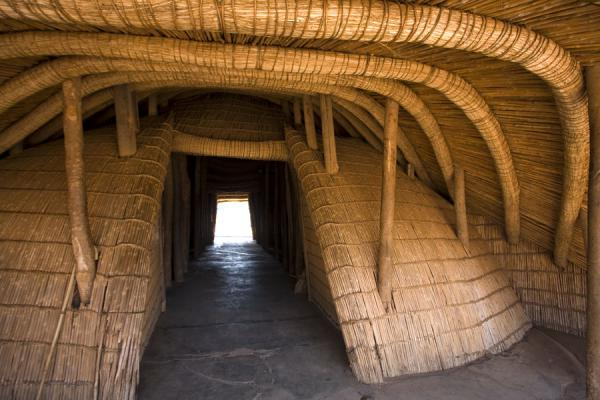 Entrance to the Kasubi Tombs: Bujja Bukula, the gate house | Kasubi Tombs | Uganda