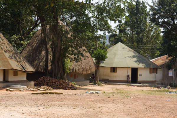 Modern residences for royals linked to the Buganda kingdom | Kasubi Tombs | Uganda