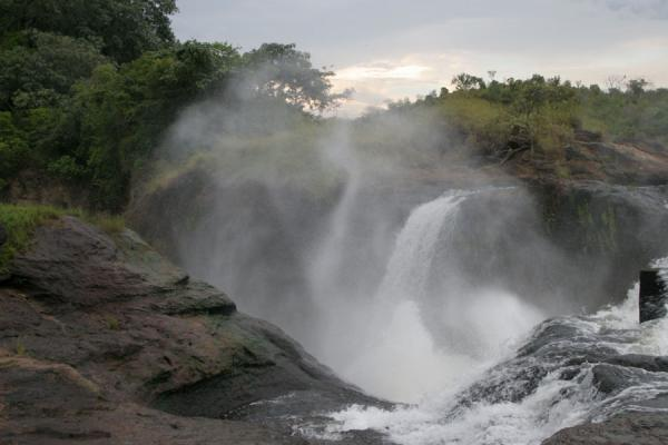 Showers of water and water everywhere at Murchison Falls | Murchison Falls | Uganda