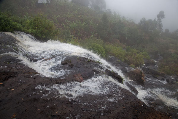 Photo de View of the second waterfall - Uganda - Afrique