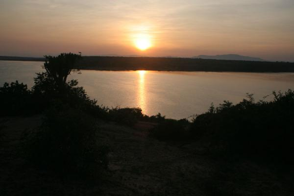 Picture of Uganda Light (Uganda): Sunrise over Kazinga Channel at Queen Elizabeth National Park