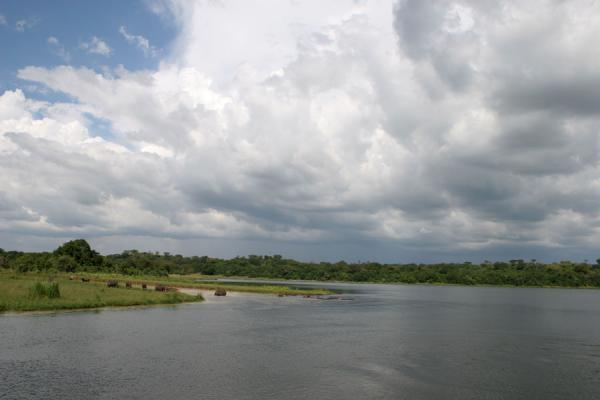 Picture of Uganda Light (Uganda): Clouds gathering over the Victoria Nile