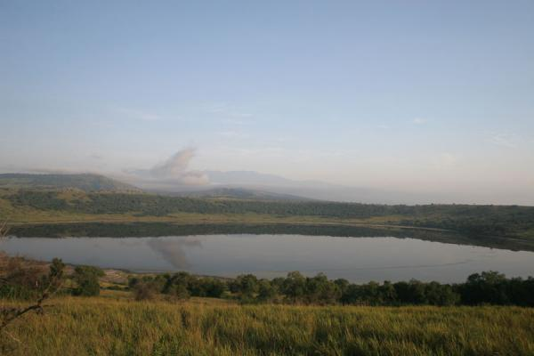 One of the crater lakes in Queen Victoria National Park | Uganda Light | Uganda