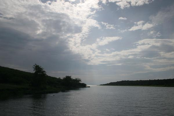 Picture of Uganda Light (Uganda): Kazinga Channel, looking towards Lake Edward
