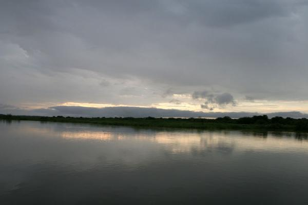 Picture of Uganda Light (Uganda): Early morning light over Victoria Nile