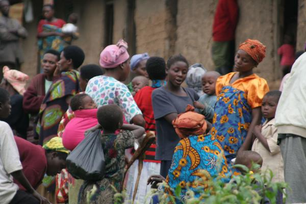 Women at a street market | Uganda people | Uganda