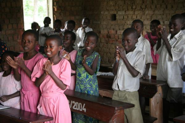 School kids in a small Ugandan school | Uganda people | Uganda
