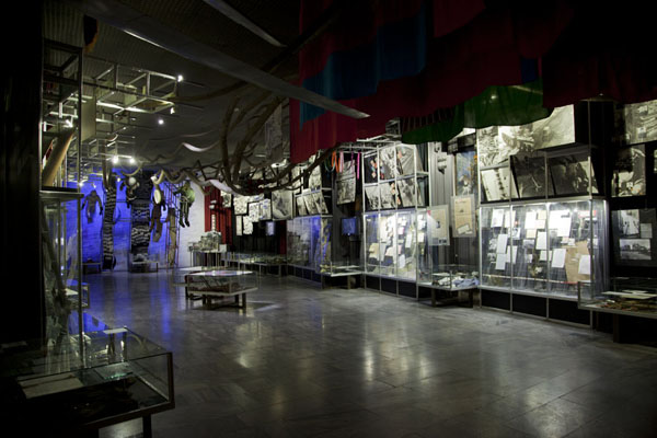 Foto di The first hall of the museum, explaining the events during and after the nuclear disaster of 1986Kiev - Ucraina