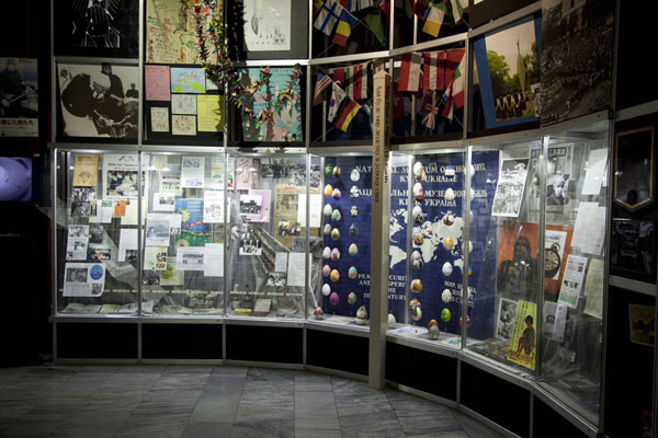 Picture of Wall of the museum of ChernobylChernobyl - Ukraine