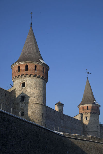 Towers of the fortress of Kamyanets-Podilsky | Kamyanets-Podilsky fortress | 乌克兰
