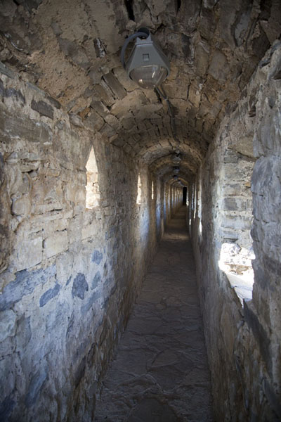 Picture of One of the walkways inside the fortress of Kamyanets-Podilsky