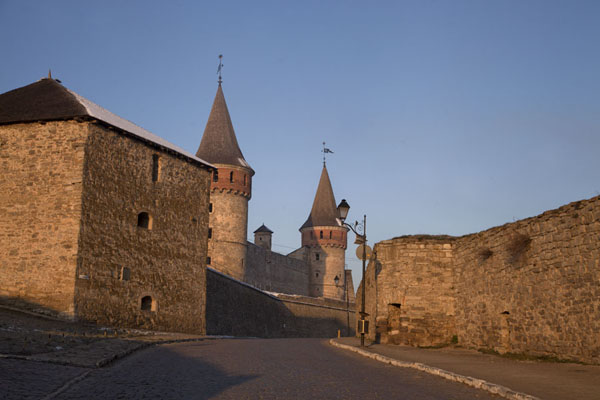 The fortress in the early morning | Kamyanets-Podilsky fortress | Ukraine