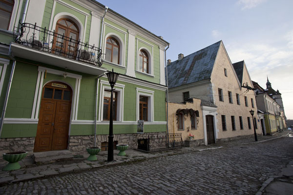 Street in the old town of Kamyanets-Podilsky - 乌克兰