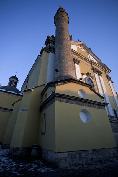 Picture of Minaret attached to the SS Peter and Paul Cathedral in Kamyanets-Podilsky - Ukraine - Europe
